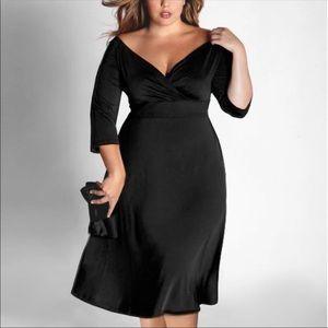 Igigi Francesca Dress Black Full Surplice 12/16